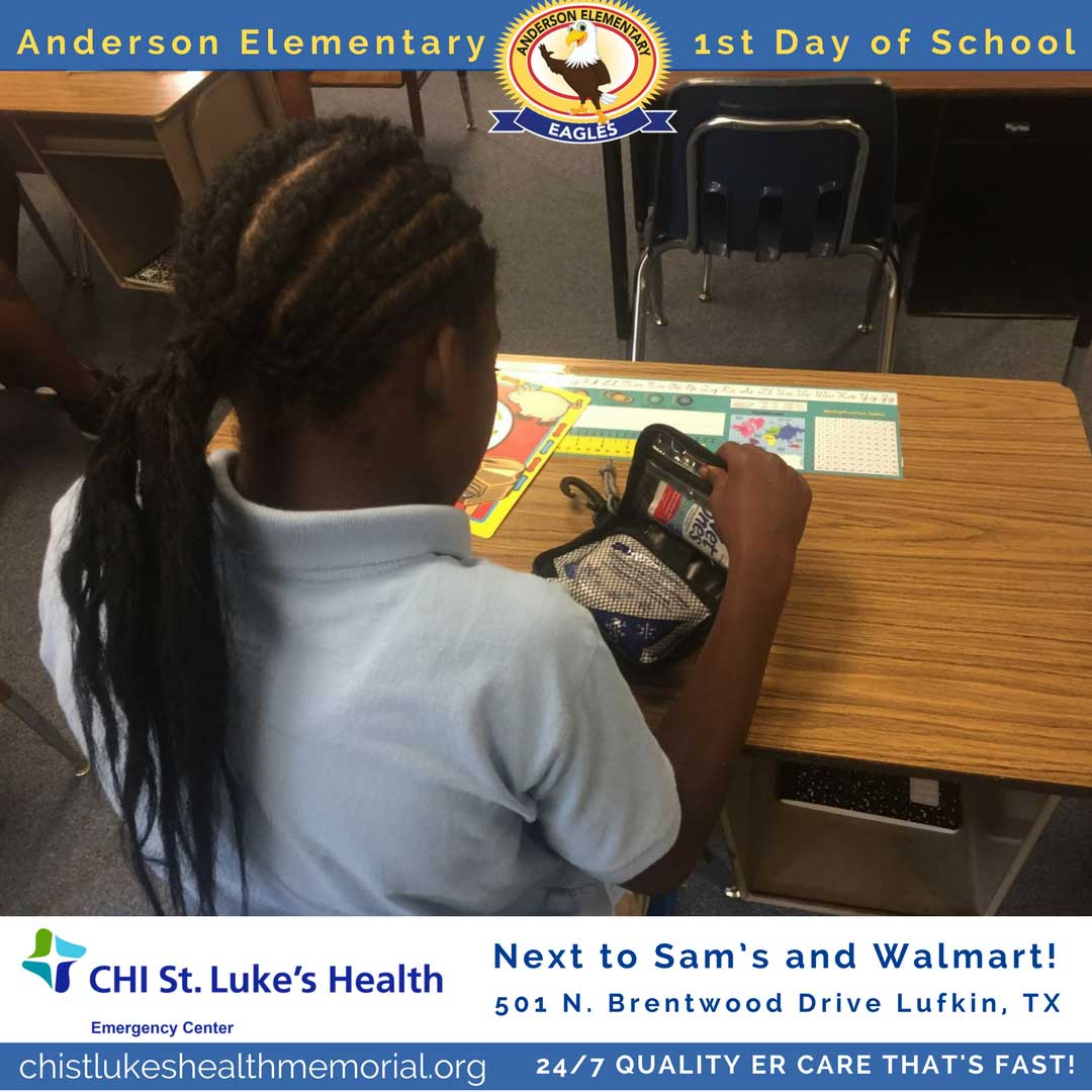 Anderson-Elementary-First-Day-of-School-Lufkin-ISD-Children