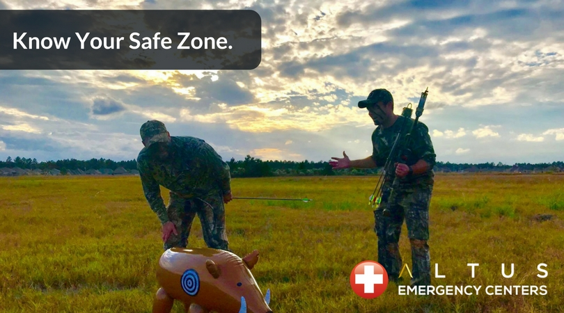 Deer-Hunting-Season-Safety-Tip-Know-Your-Safe-Zone-Altus-Emergency-Centers-Texas