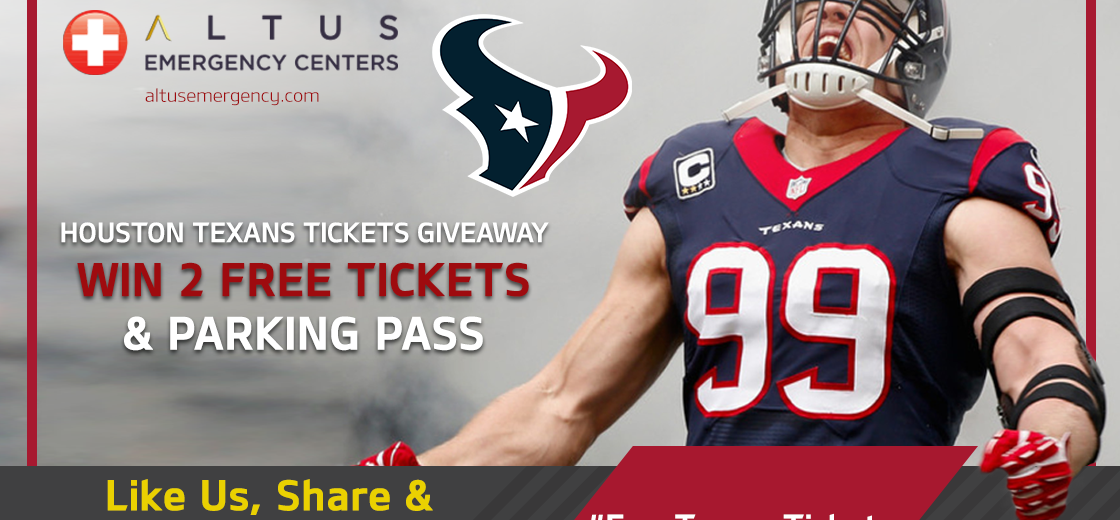 Houston-Texans-Free-Tickets-Giveaway-Altus-ER-Centers