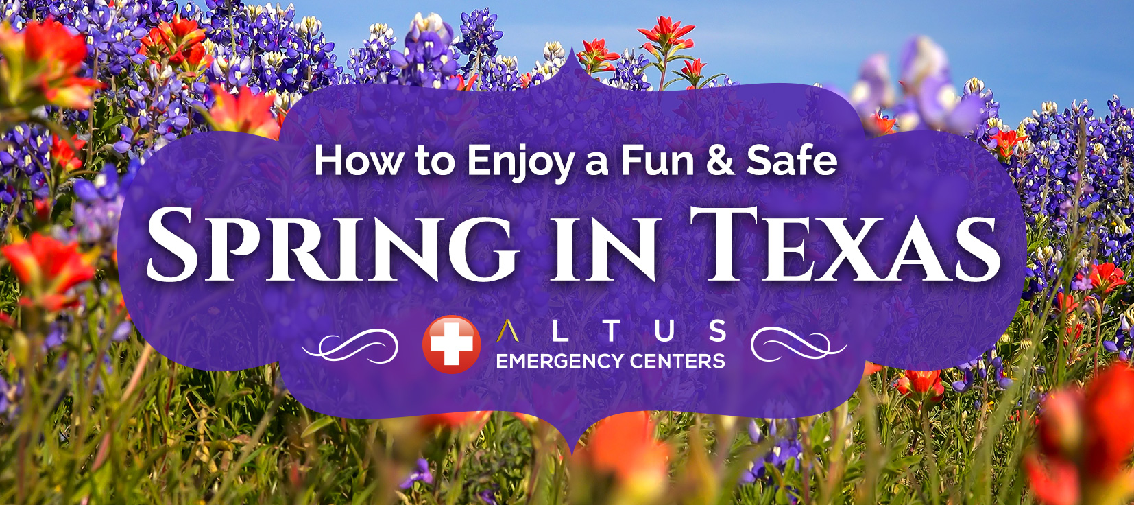 tips to enjoy a safe and fun spring in texas altus emergency