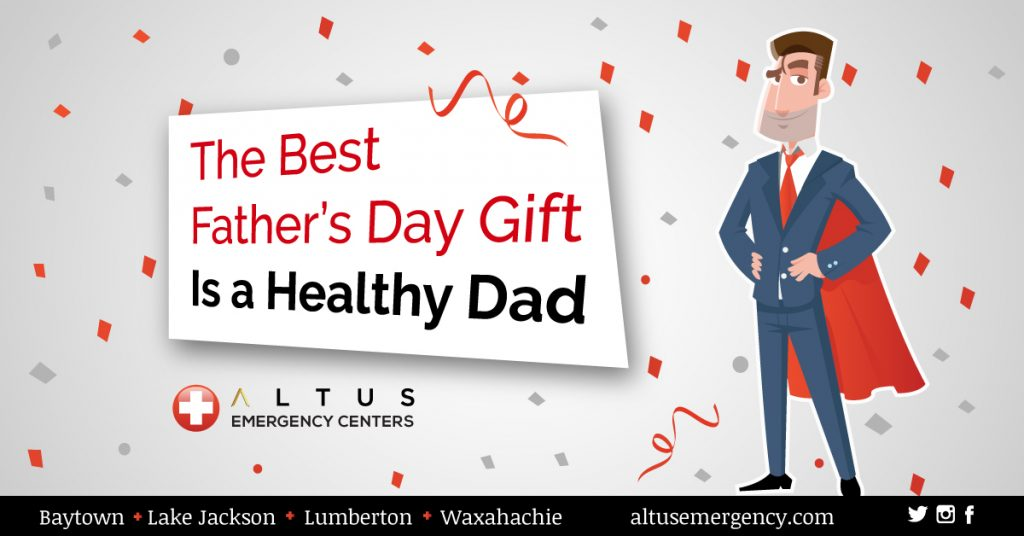 Best Father's Day Gift is a Healthy Daddy men's health month