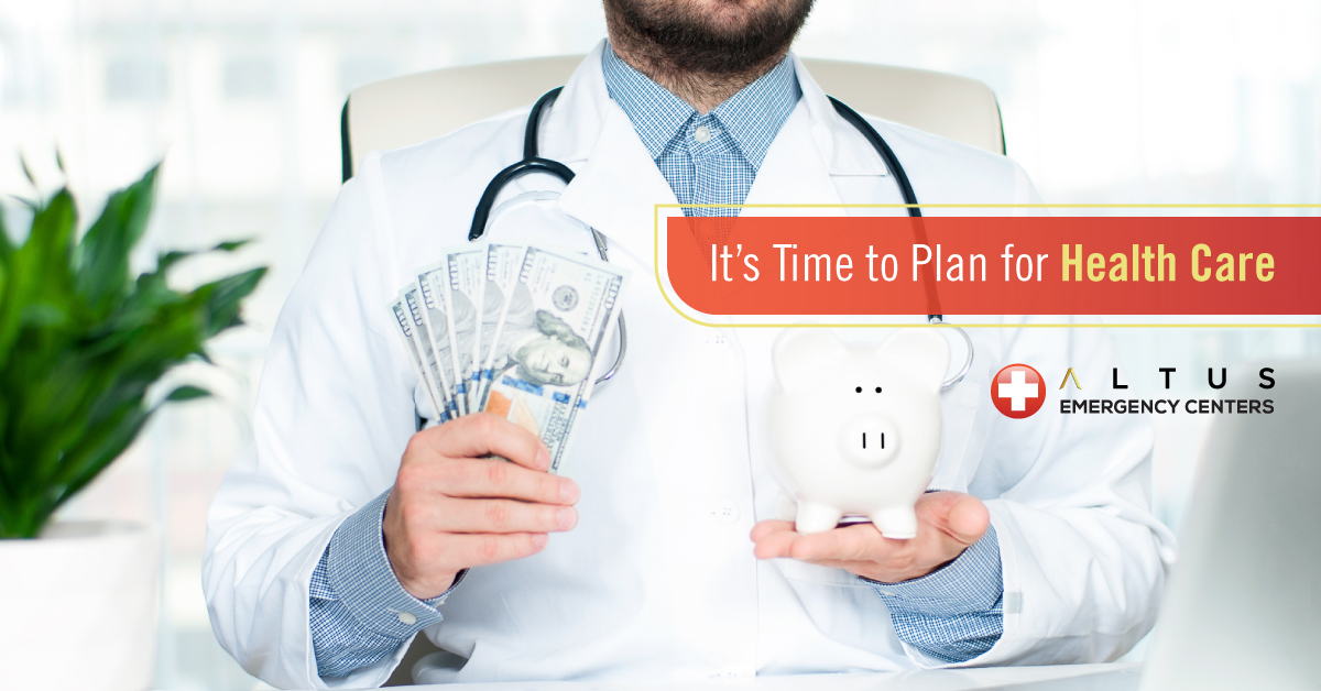 it's time to plan for health care - Financial Wellness Month