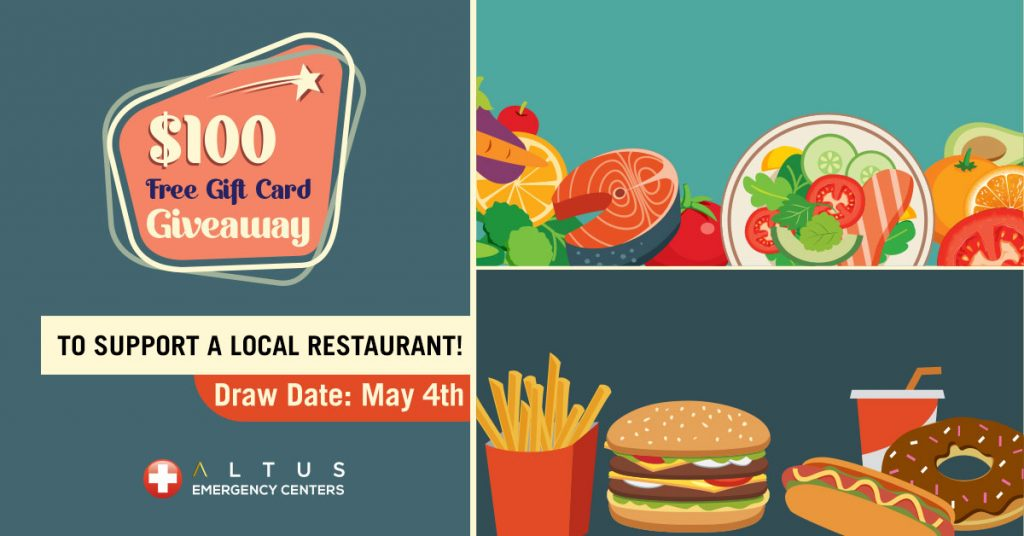 $100 Free Gift Card Giveaway to Support Your Favorite Restaurant!