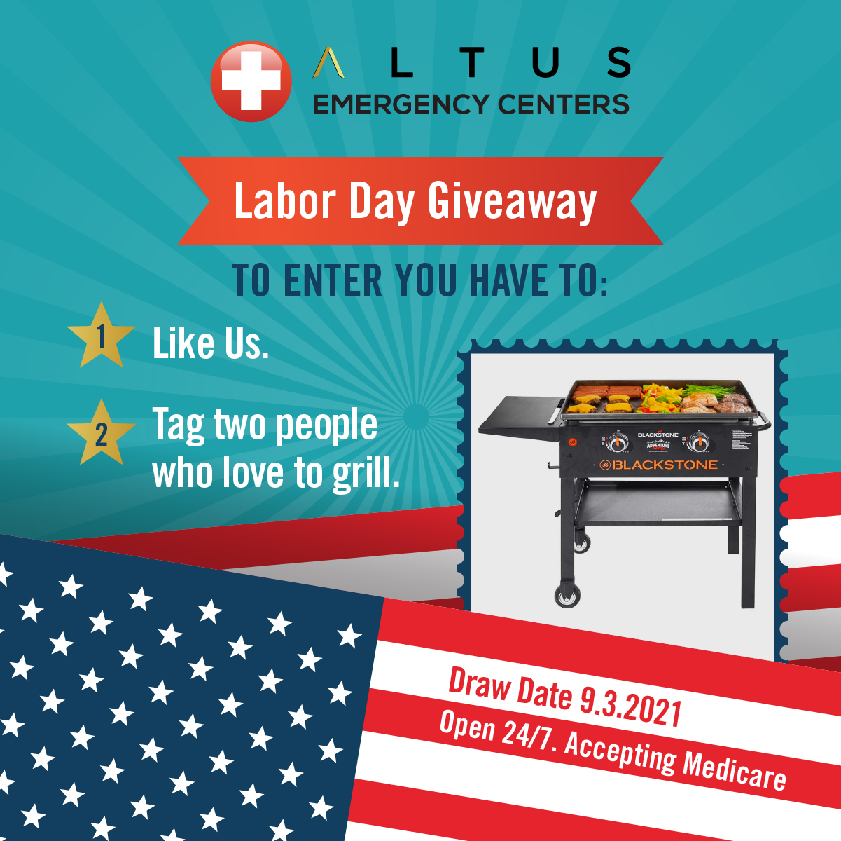 Labor Day Giveaway 2021 Free Grilling Set